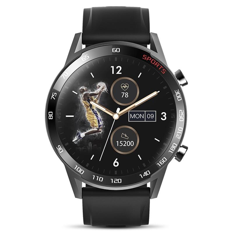 2020 Smart Bluetooth Bracelet sport Touch Screen Body Temperature Blood Pressure Heart Rate Blood Oxygen Waterproof smart watch