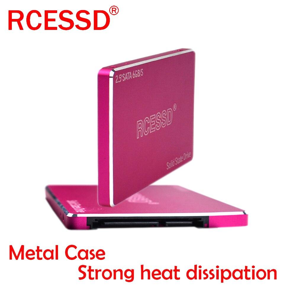 RCESSD Metal Shell Hard Drive Disk 128GB Internal SSD 240 GB Laptop Hard Drive 480GB 960GB SATA SSD 2.5 Hard Drive 240GB 256GB