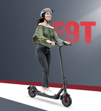 iScooter E9T 30KM/H Adult Electric Scooter Kick Scooter Electric Step Smart Two Wheels Scooter Mini Scooter Foldable Freestyle