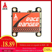 Transmitter VTX Ranger FPV Race AKK Switchable Audio 800mw/1600mw Smart