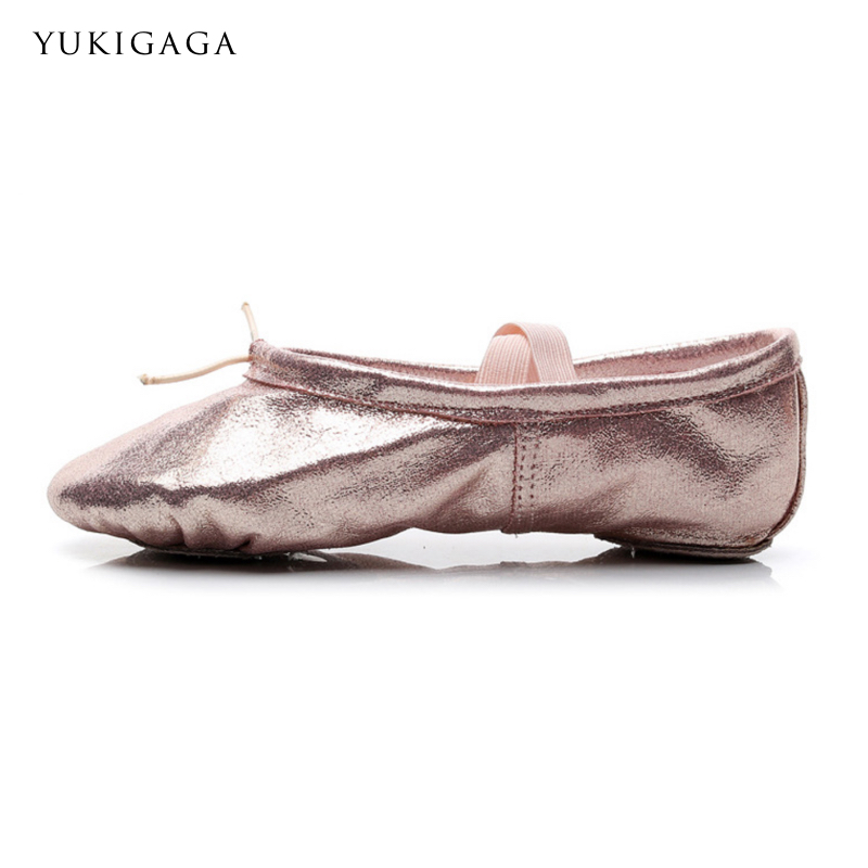 New Professional Full Rubber Band Shoelace Body-shaping Training Yoga Slippers Gym Ballet Dance Shoes Kids Girls Woman