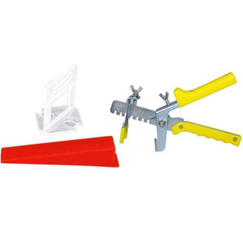 401 Tile Leveling System 1 Mm 300 Clips + 100 Wedges + 1 Piece Of Pliers Plastic Tile Spacer Tile Tool