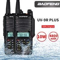 "dual band vhf uhf IP67 Waterproof Baofeng UV-9R פלוס מכשיר הקשר Dual Band שני הדרך רדיו 10W UHF VHF UV 9R Portable מקמ""ש HF שידורי רדיו חובבים Ham (1)"