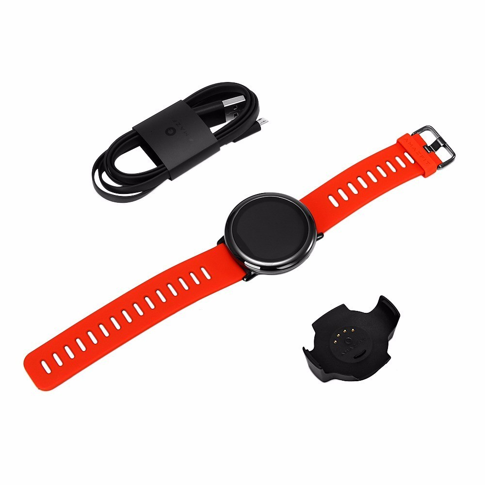 HUAMI AMAZFIT PACE SMART WATCH GPS SMARTWATCH  WEARABLE DEVICES SMART WATCHES ELECTRONICS FOR XIAOMI PHONE IOS 30