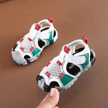 DIMI 2020 Baby Summer Shoes Boy Toddler Sandals Breathable Kid Anti-slip Anti-collision Shoes Camouflage Beach Infant Sandals