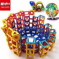 Magnetic Constructor designers Building Blocks Bricks Big Size Set 21-88 pcs Accessory Educational games Toys For children Kids