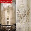 Роскошные европейские вилла  элегантные  украшенные тюлем  для гостиной  окна с высококачественной вуалью  занавеска для спальни  отеля