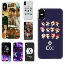 Exo Band K-pop TPU Case Protective For Apple iPhone 4 4S 5 5C 5S SE 6 6S 7 8 11 Plus Pro X XS Max XR(China)
