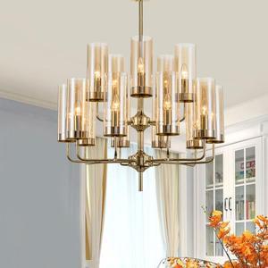 Modern luxury glass chandelier
