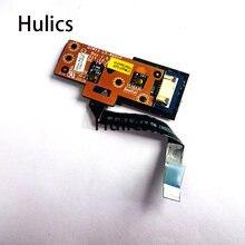 Hulics оригинал для Lenovo Y580 Y480 Y485 серии QIWY3 LS-8001P плата кнопки питания работает