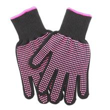 Professional High Temperature Resistant Gloves for Curling Iron Hair Home Straightener 22cm/8.7inch 300C