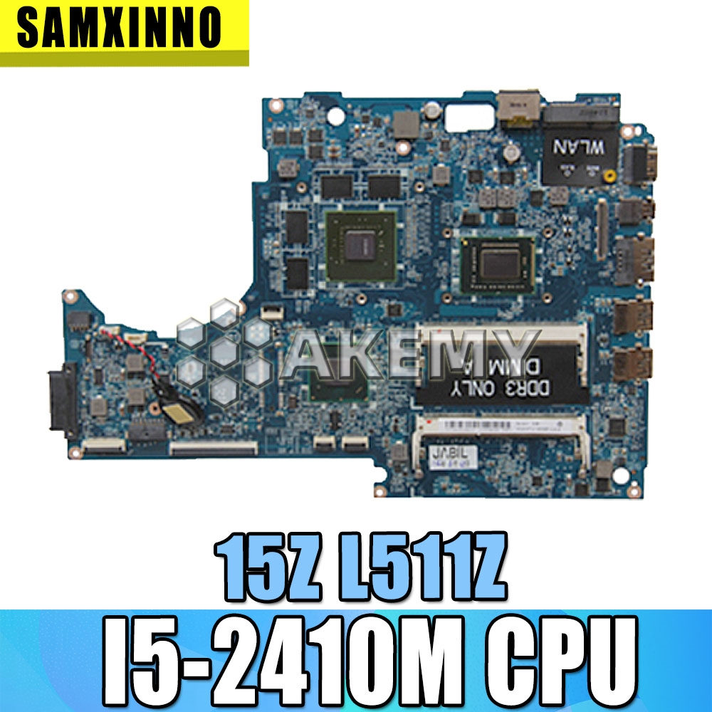 I5 CPU FOR DELL XPS 15Z L511Z laptop motherboard DASS8BMBAE1 REV:E GT525M mainboard NOTEBOOK PC|Motherboards| |  - title=