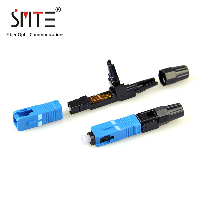 Image 2 - 100pcs/lot SC UPC Cold connector NPFG 60mm 0.3 dB SC UPC fast connector Fiber optical connectorsc upcsc connectorsc sc - AliExpress