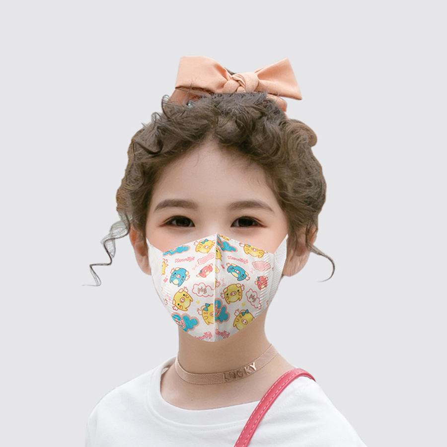 Image 2 -  グループ  上の 子供の漫画口マスク印刷防塵通気性 PM2.5 口マスクのための子供の口のマスク息医療フェイスマスク
