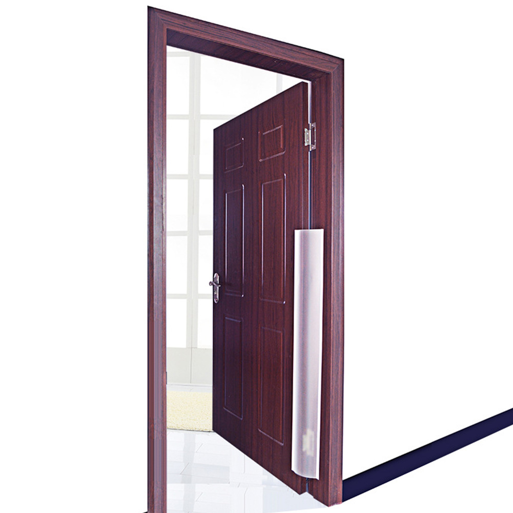 Translucent Door Finger Guard Anti-pinch Home Kindergarten Protection Strip Front Back Child Safety Seamless Double-Sided Paste