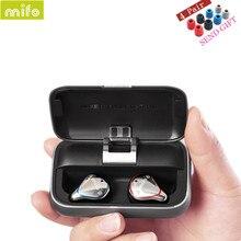 MIFO O5 ב אוזן HIFI אוזניות אמיתי אלחוטי Bluetooth 5.0 אוזניות Binaural מיני עמיד למים אוזניות O2 X1 X1E I7 i8 E12 TW100