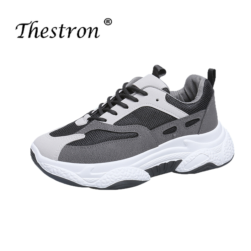 Купить с кэшбэком Autumn Fitness Shoes Female Comfortable Female Sports Shoes Fashion Ladies Tide Shoes Breathable Non-slip Female Sports Shoes