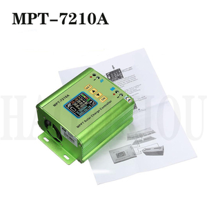 MPT-7210A LCD Display Solar Battery Charge Controller Regulator DC-DC Booster Voltage Ammeter Electrical Tool Accessories(China)