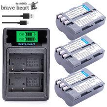 batterie EN-EL3E EN EL3e ENEL3e EL3 EN EL 3E Battery For Nikon D300S D300 D100 D200 D700 D70S D70 D80s D90 D50 L15 camera