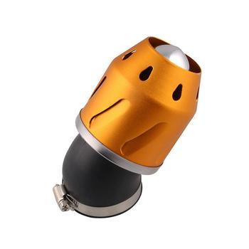 Krzyż w gorącym już dziś motocykl zmodyfikowany powietrza filtr powietrza wlotowego ze stopu Aluminium ze stopu Aluminium duży przepływ grzyb Bullet filtr tanie i dobre opinie 135 70 135mm 5 3 2 8 5 3 inch Intake Air Filter 324g ATV pit dirt bike etc Aluminum alloy Częstotliwość-oddzielenie filtry