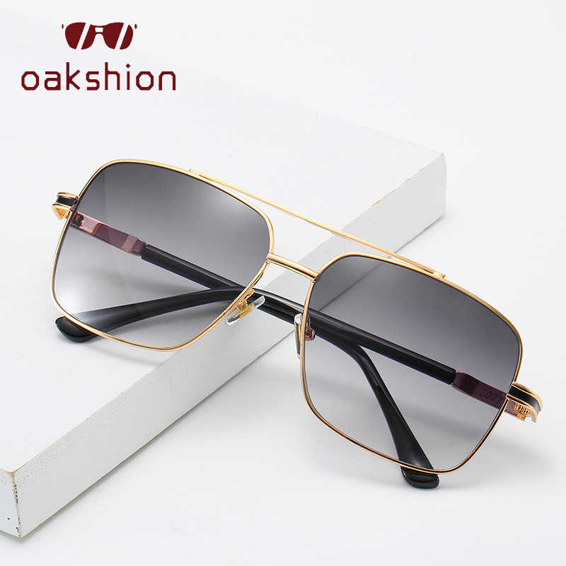 Oakshion dos homens Clássicos Óculos De Sol Das Mulheres Grande Quadro óculos de Sol óculos de Sol Piloto Da Aviação Para UV400 Outdood Viajar Óculos de Condução Dos Homens