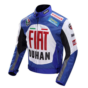 Image 5 - 2020 new Original DUHAN D 082 overalls Moto GP jacket motorcycle D082 knight jacket Repsol best quality red blue cotton lining