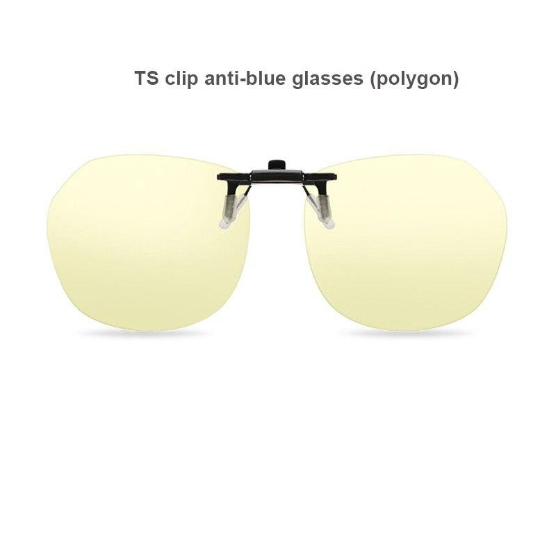 Очки TS с защитой от синего излучения для мужчин и женщин, ультралегкие, с защитой от УФ излучения, для вождения, компьютера, телефона, с зажим...