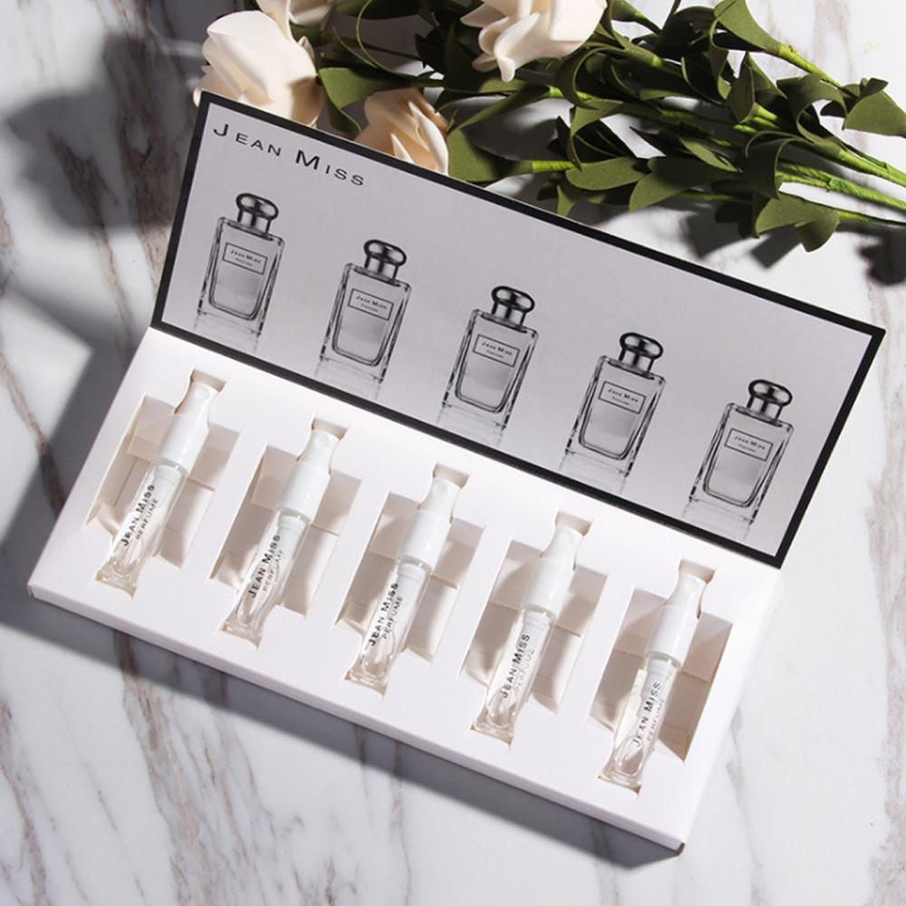 1Set Perfume For Women Atomizer Essential Oil Beautiful Package Parfum Fashion Lady Flower Fruit Fragrance With Box