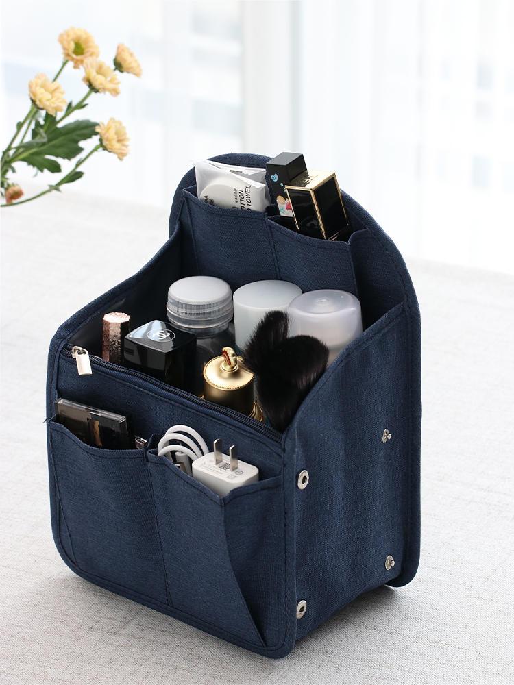 SEREQI Backpack Organizer Insert Travel Purse Multi-Pocket Bag in Bag Toiletry Organizer,Men's