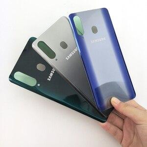 Image 4 - Originele Samsung Galaxy A8s 3Dglass Batterij Back Cover Deur Behuizing Vervanging Reparatie Bescherming Case Voor Samsung A8S SM G8870