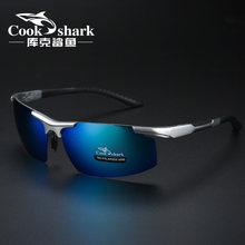 Cookshark 2020 nuevas gafas de sol de los hombres gafas de sol marea polarizado los conductores gafas de conducir