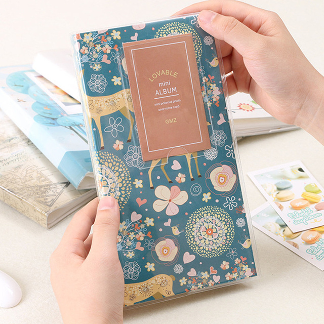 Qianyun Mini Album Photo Pocket Album Photo Book For Baby Wedding Album For Sale Instax Mini Photo Album Corner Sticker