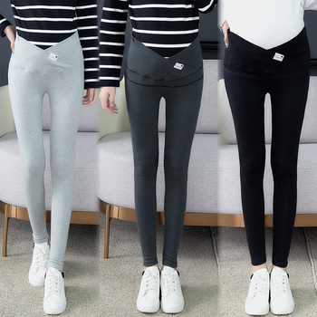 1026# Across V Low Waist Belly Maternity Legging Cotton Skinny Legging Clothes for Pregnant Women Autumn Spring Pregnancy Pants autumn fashion maternity legging low waist belly stretch cotton skinny pants clothes for pregnant women pregnancy wear