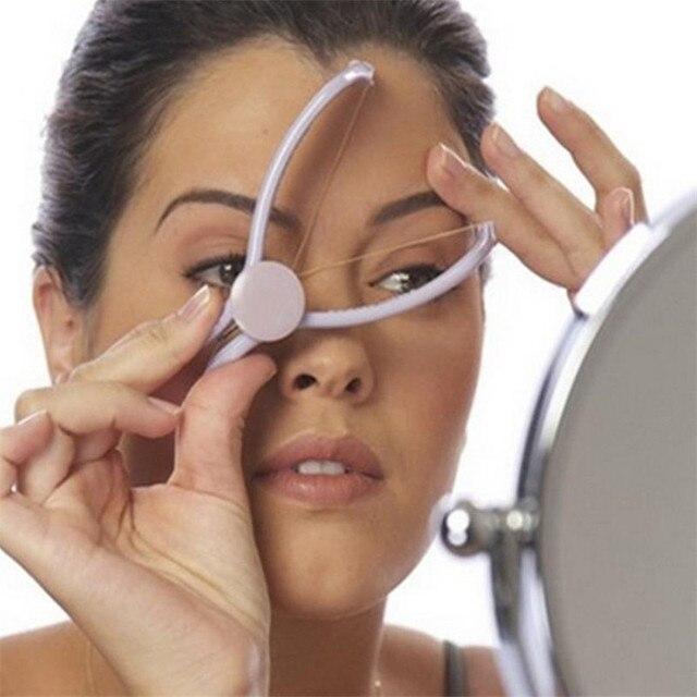 Protable Women Mini Facial Hair Remover Spring Threading Epilator Face Cheeks Eyebrow Epilator Tools 20#47 5