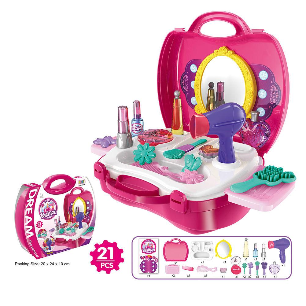 Kids Role Pretend Play DIY Children Kitchen Cooking Medical Makeup Toy Sets Gift