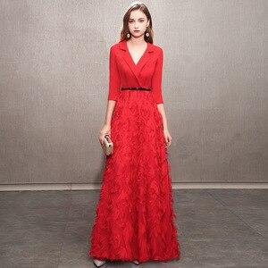Image 3 - Gran oferta 2020, vestido de dama de honor, falda pequeña de fiesta para mostrar el traje Delgado Qiu Dong de gama alta, nueva atmósfera femenina, incluso ropa