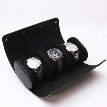 3-slot Watch Travel Roll/Case 4