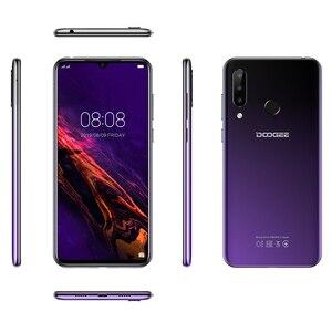 Image 5 - DOOGEE N20 16MP משולש אחורי מצלמה טלפון נייד טביעת אצבע 6.3 אינץ FHD + תצוגת 64GB 4GB MT6763 אוקטה core 4350mAh Smartphone