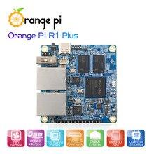 Pomarańczowy Pi R1 Plus, przenośny Router podróżny SBC OpenWRT z podwójnym GbE,1GB Rockchip RK3328, obsługa systemu Android 9/Ubuntu/Debian OS