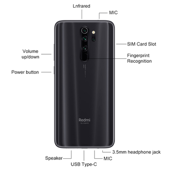Глобальная версия Xiaomi Redmi Note 8 Pro 6 ГБ 128 ГБ 4