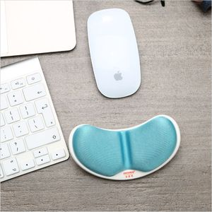 Image 5 - Alfombrilla de ratón de algodón con memoria para la muñeca, almohadilla para la mano, cojín relajante para mesa, cuidado de las manos para la Oficina y el trabajo, ordenador