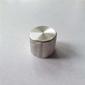 4 sztuk aluminium plastikowa gałka pokrętło potencjometru 21 5*17*6mm pokrętło przełącznika samochodu dla samochodu potencjometr cap tanie i dobre opinie Aluminum