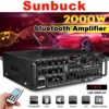 2000W 4ohm 2CH bluetooth Stereo Amplifier   1