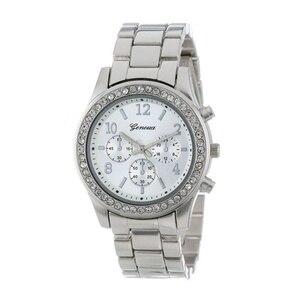 Image 2 - Yeni cenevre klasik lüks rhinestone İzle kadınlar saatler moda bayanlar kadınlar saat Reloj Mujer Relogio Feminino bayanlar izle