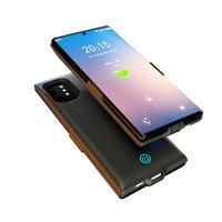 7000 mah bateria recarregável estojo para samsung galaxy note 10 10 + 10 mais powerbank caso note10plus protable telefone de carregamento capa|Estojos p/ carregador de bateria| |  -