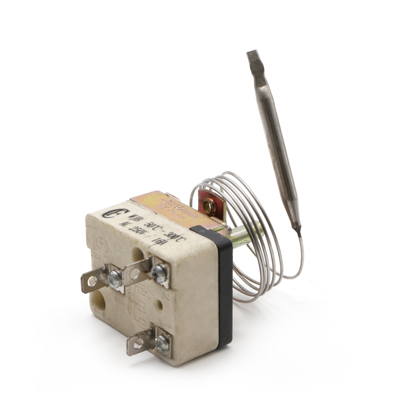 DANIU Thermostat AC 250V 16A 50-300 Degrees Temperature Controller No NC for