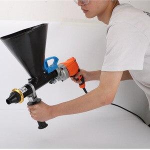 Image 2 - المحمولة الاسمنت ملء بندقية معدات الحشو الكهربائية مقاوم للماء وتسرب ملء آلة الحشو