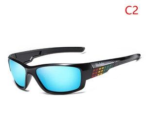 Image 5 - Viahda marca design novo polarizado óculos de sol dos homens moda masculina óculos de sol óculos de viagem pesca oculos com caixa