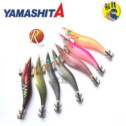 Japan YAMASHITA luminous wood shrimp, squid hook sea fishing road and false bait cuttlefish soft squid silk wood bait