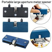 Two Claw Table Key Watch Rear Cover Open Tool Adjustable Rectangular Remover Wrench Watch Repair Kit Tool Adjuster  52mm caliber
